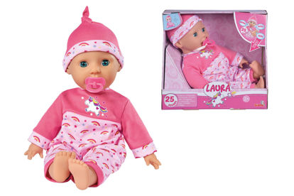 Obrázek Panenka Laura Tickle Baby 38 cm