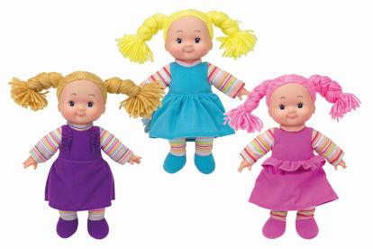 Obrázek Veselá látková panenka