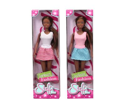Obrázek Panenka Steffi černoška Urban Fashion, 2 druhy