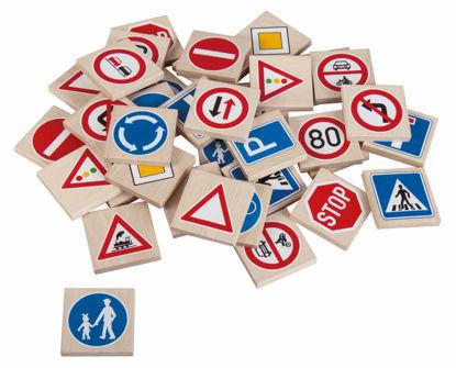 Obrázek Pexeso dopravní značky