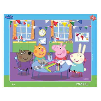 Obrázek Puzzle Peppa Pig:Ve školce 40D deskové
