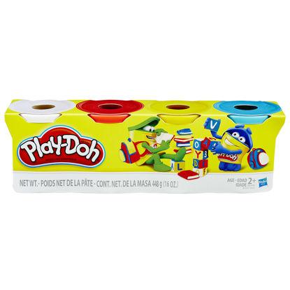 Obrázek Play-Doh BALENÍ 4 barvy