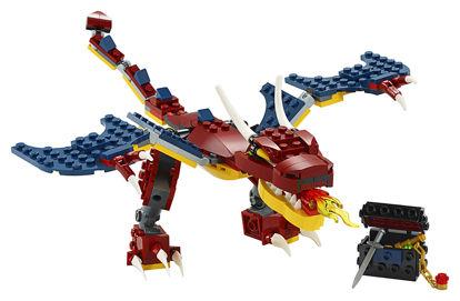 Obrázek LEGO Creator 31102 Ohnivý drak