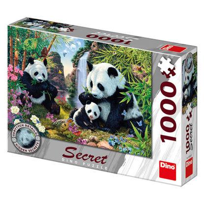 Obrázek PANDY 1000 secret collection Puzzle NOVÉ