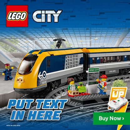 Obrázek LEGO City 60197 Osobní vlak