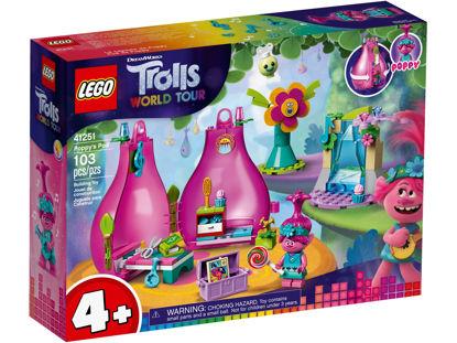 Obrázek LEGO Trolls 41251 Poppy a její domeček