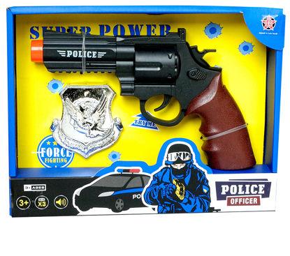Obrázek Policejní dětská pistole s odznakem