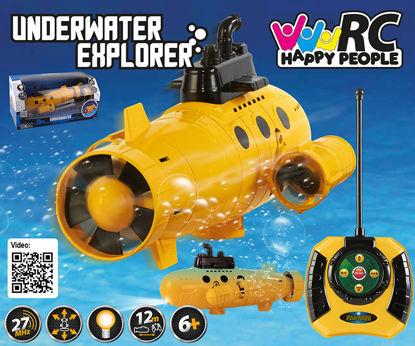 Obrázek RC Ponorka žlutá