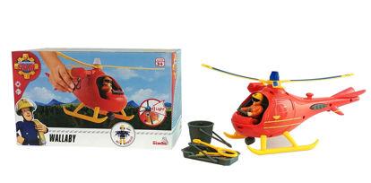 Obrázek Požárník Sam Vrtulník s figurkou