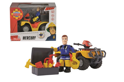 Obrázek Požárník Sam Mercury čtyřkolka s figurkou