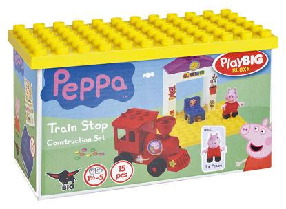Obrázek PlayBig BLOXX Peppa Pig železniční zastávka
