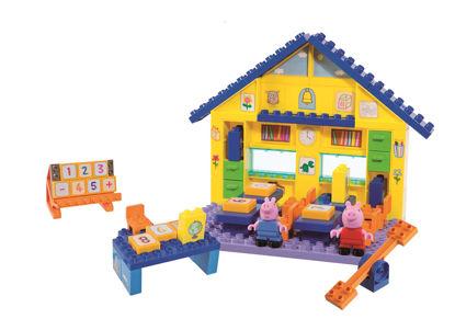Obrázek PlayBig BLOXX Peppa Pig Škola