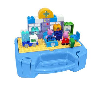 Obrázek PlayBig BLOXX Peppa Pig Sada s kufříkem