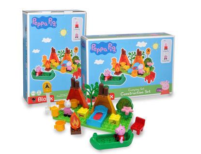 Obrázek PlayBig BLOXX Peppa Pig Kempingová sada