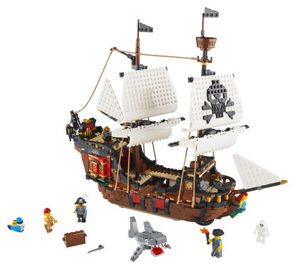 Obrázek LEGO Creator 31109 Pirátská loď