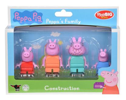 Obrázek PlayBig BLOXX  Peppa Pig Figurky Rodina