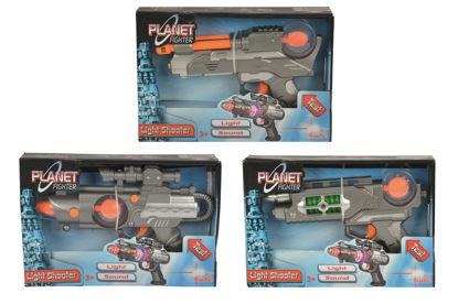Obrázek Planet Fighter zbraň 22cm, 3 druhy