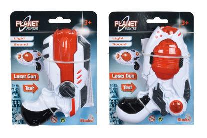 Obrázek Planet Fighter Laserová pistole 16 cm, 2 druhy