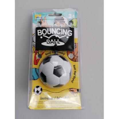 Obrázek Míček na gumičce - fotbal