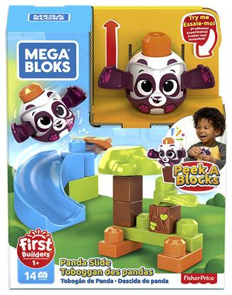 Obrázek Mega Bloks  zvířátka VELKÁ SKLUZAVKA