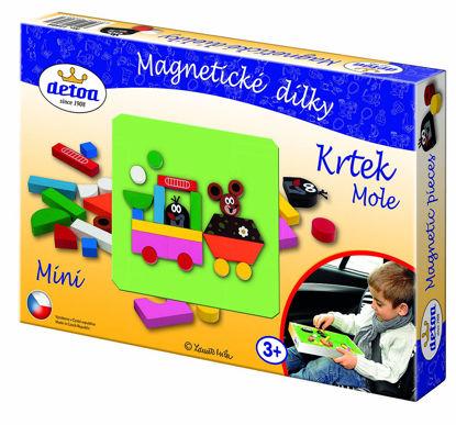 Obrázek Magnetické dílky Krtek mini