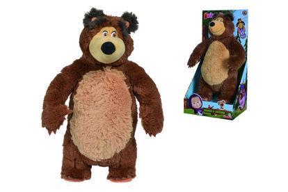 Obrázek Máša a medvěd Medvěd Míša Shake & Sound, 43 cm