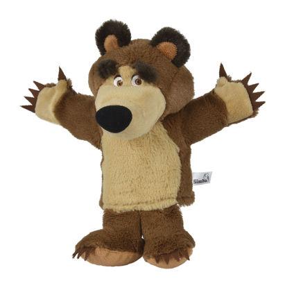 Obrázek Máša a medvěd Maňásek medvěd Míša 28 cm