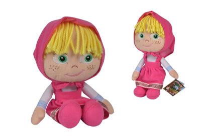 Obrázek Máša a medvěd Látková panenka Máša 25cm