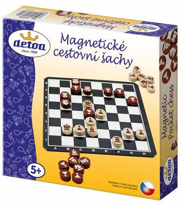 Obrázek Magnetická cestovní  hra šachy