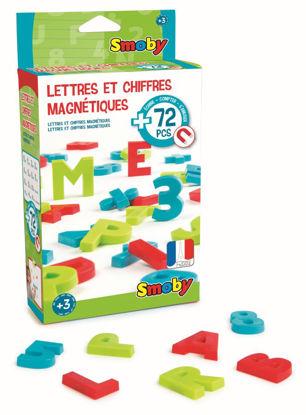 Obrázek Magnetická písmena a čísla 72ks