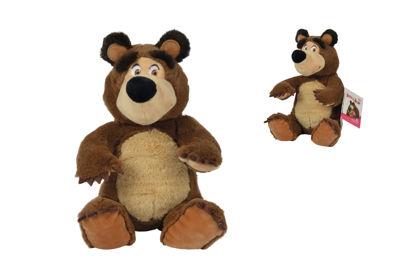 Obrázek Máša a medvěd Plyšový medvěd 20cm, sedící