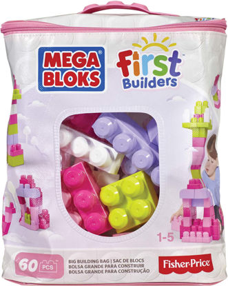 Obrázek Mega Bloks BIG BUILDING BAG GIRLS (60)