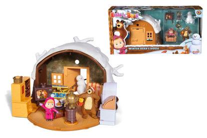Obrázek Máša a medvěd Zimní dům medvěda