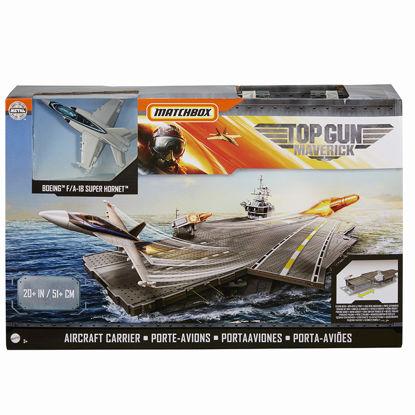 Obrázek Matchbox TOP GUN letadlová loď