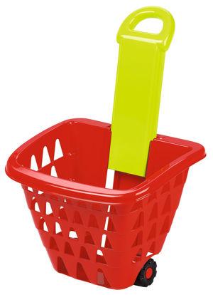 Obrázek Nákupní košík na kolečkách skládací