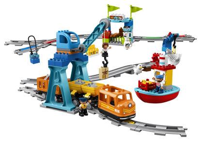 Obrázek LEGO Duplo 10875 Nákladní vlak