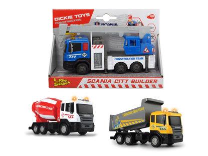 Obrázek Nákladní auto Scania City Builder