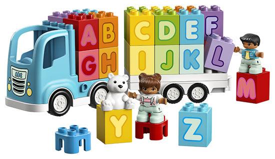 Obrázek z LEGO Duplo 10915 Náklaďák s abecedou