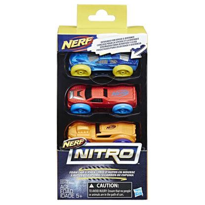 Obrázek Nerf Nitro náhradní nitro 3 ks asst