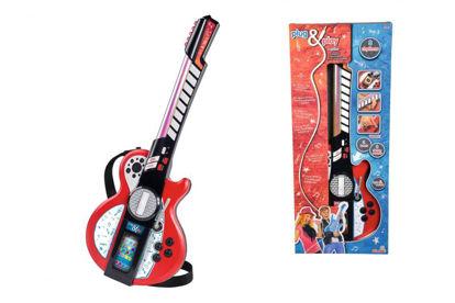 Obrázek Dětská elektronická kytara, i pro MP3