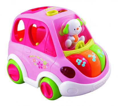 Obrázek Mluvící Auto Vtech CZ - růžové