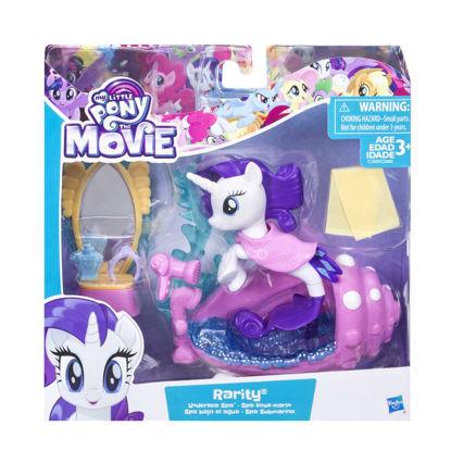 Obrázek My Little Pony Podmořský hrací set s poníkem 7,5cm