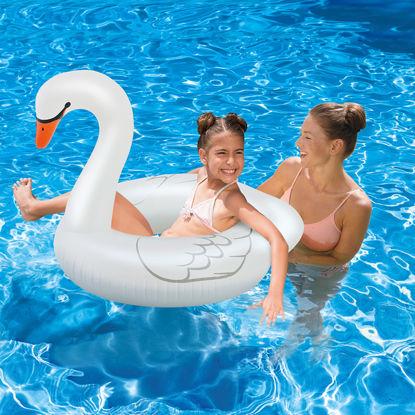 Obrázek Nafukovací kruh labuť