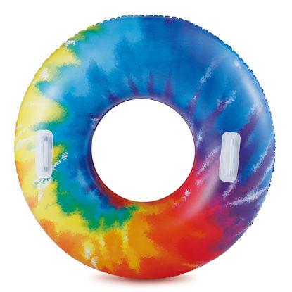 Obrázek Nafukovací kruh duhový