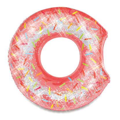 Obrázek Nafukovací kruh donut se třpytkami