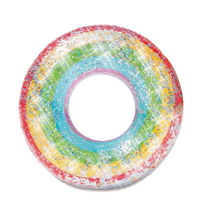 Obrázek Nafukovací duhový kruh se třpytkami