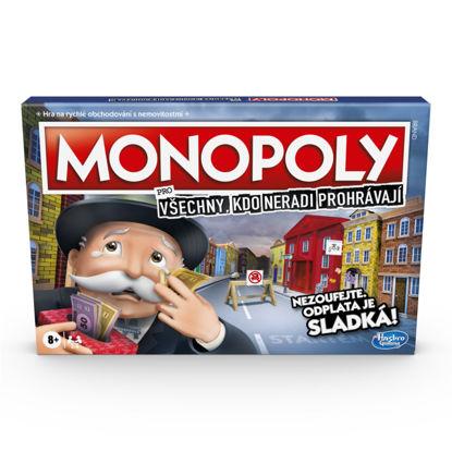 Obrázek Hra Monopoly pro všechny, kdo neradi prohrávají CZ