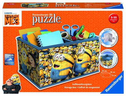 Obrázek 3D Puzzle Mimoni