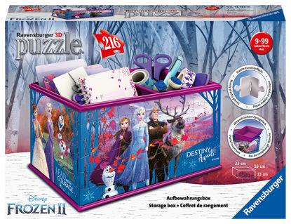 Obrázek Úložná krabice Frozen 3D puzzle, 216 dílků