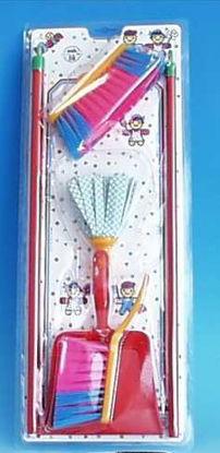 Obrázek Uklízečka se stíracím mopem dětský set